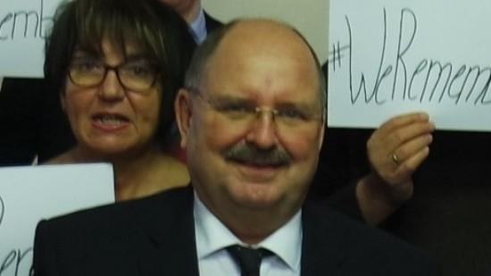 Rainer Dittmers bei der letzten Kreistagssitzung